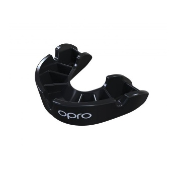 [E.3.1.BR.Jr.NE] OPRO Self-Fit GEN4 BRONZE JUNIOR (Negro)